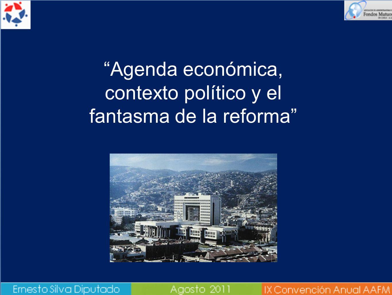 Agenda económica, contexto político y el fantasma de la reforma tributaria