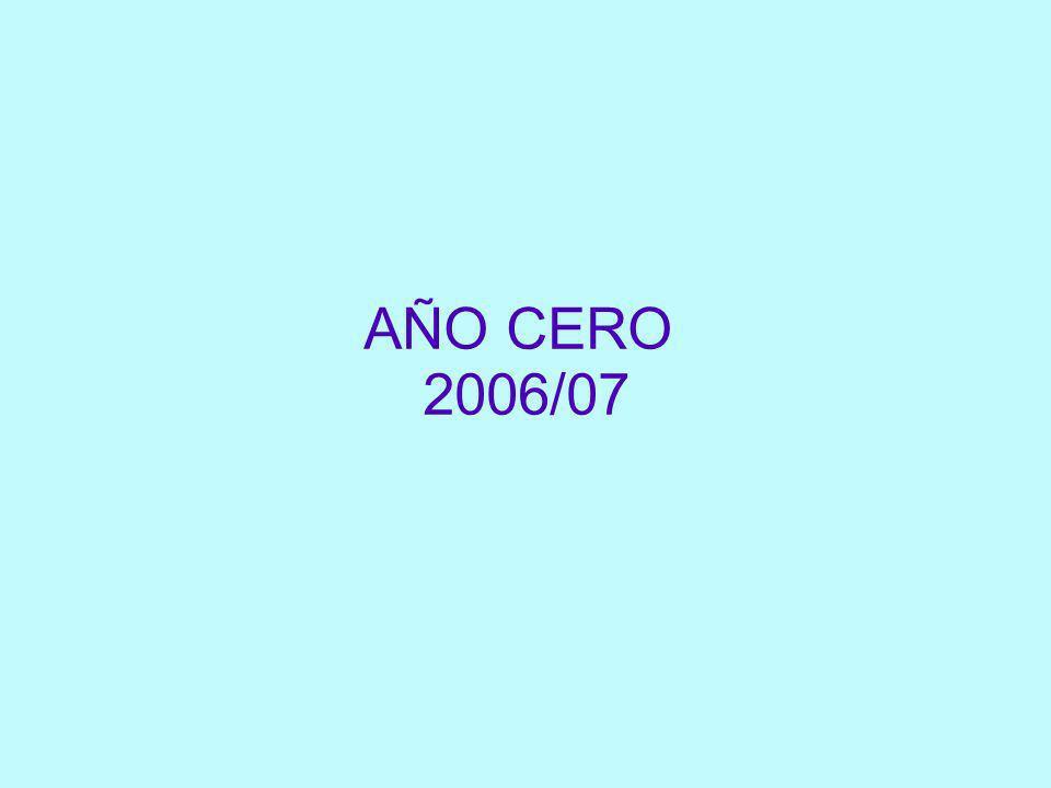 AÑO CERO 2006/07