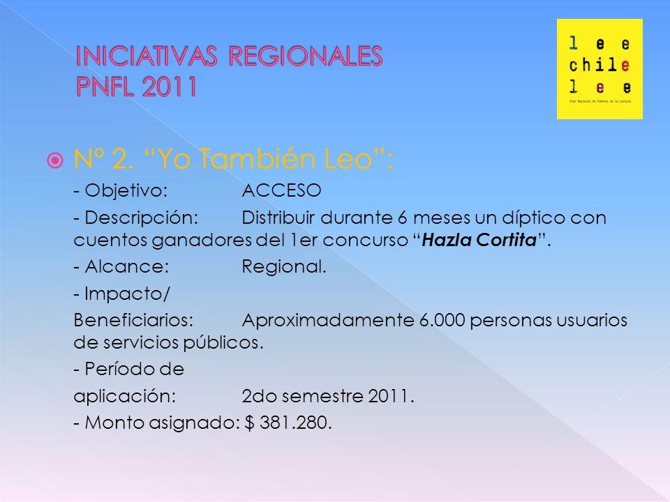 LINEAS DE ACCIÓN /INICIATIVAS 2010 (9)2011 (12)2012 (12) PART.