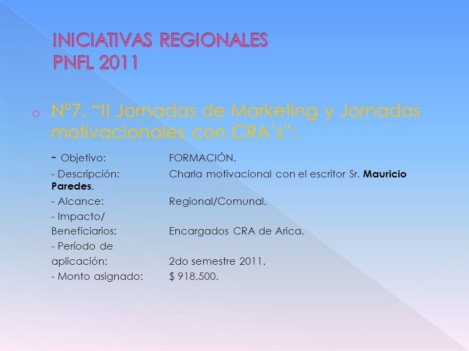 un PLAN REGIONAL DE FOMENTO LECTOR para ARICA Y PARINACOTA.