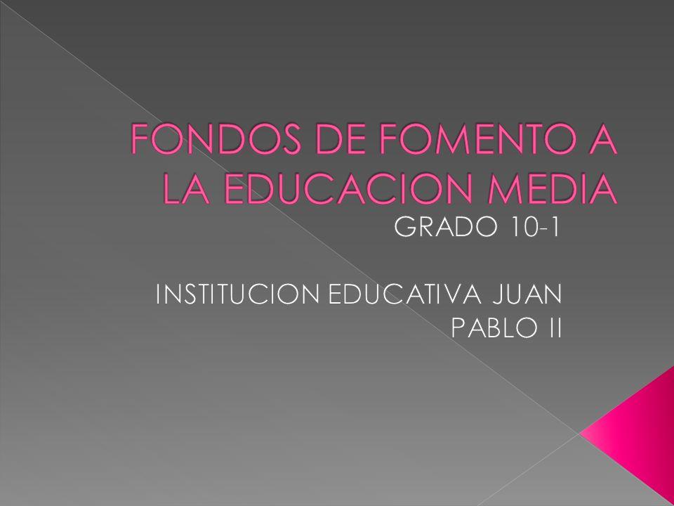 Asignar subsidios a estudiantes de educación media de instituciones oficiales que cursen simultáneamente programas de técnico profesional ofrecidos por Instituciones de Educación Superior; los subsidios financian el valor de los estudios de técnico profesional.