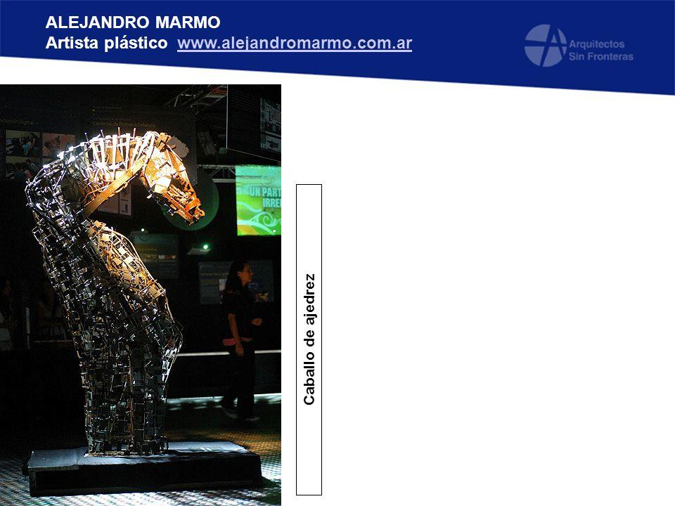 ALEJANDRO MARMO Artista plástico www.alejandromarmo.com.arwww.alejandromarmo.com.ar Caballo de ajedrez