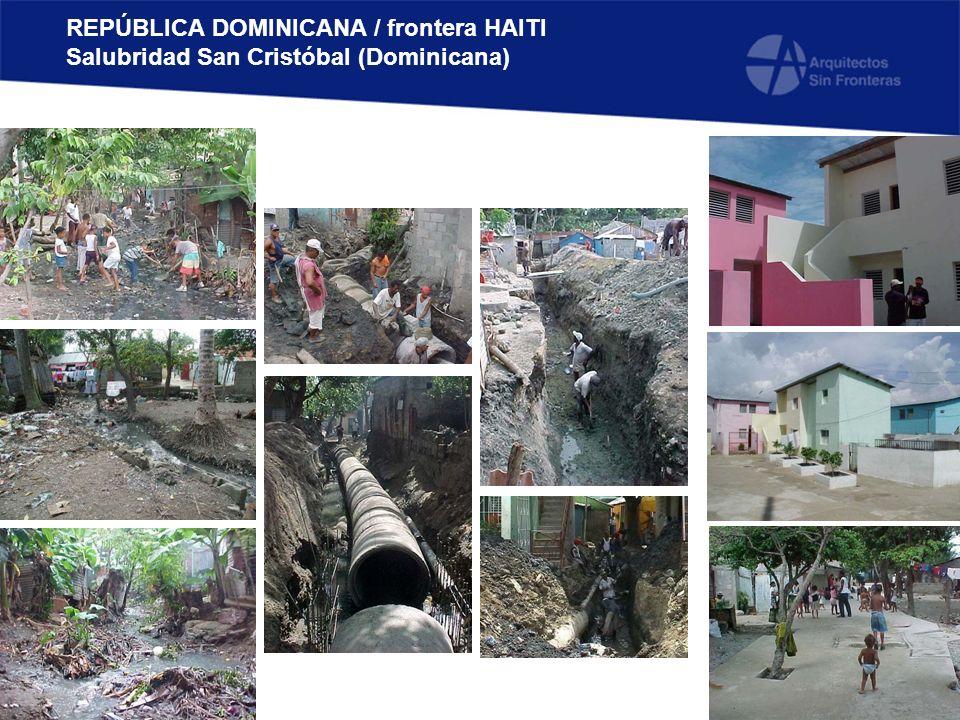 REPÚBLICA DOMINICANA / frontera HAITI Salubridad San Cristóbal (Dominicana)