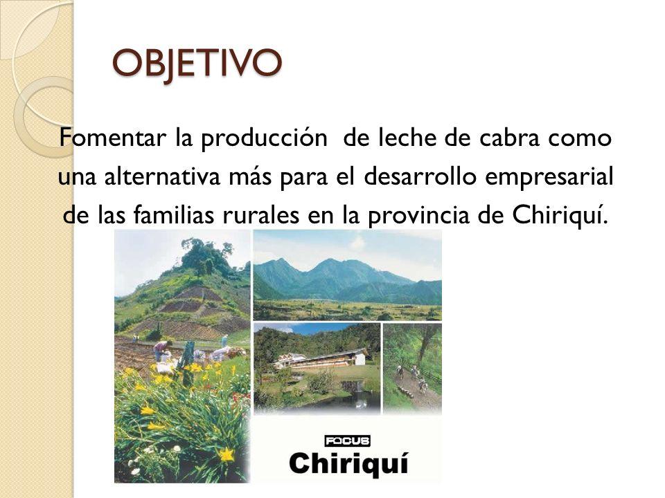 PRODUCCIÓN NACIONAL Datos proporcionados por el IDIAP, el sistema de producción caprino en Panamá es de carne y leche; sin embargo la actividad más importante es la producción de leche.