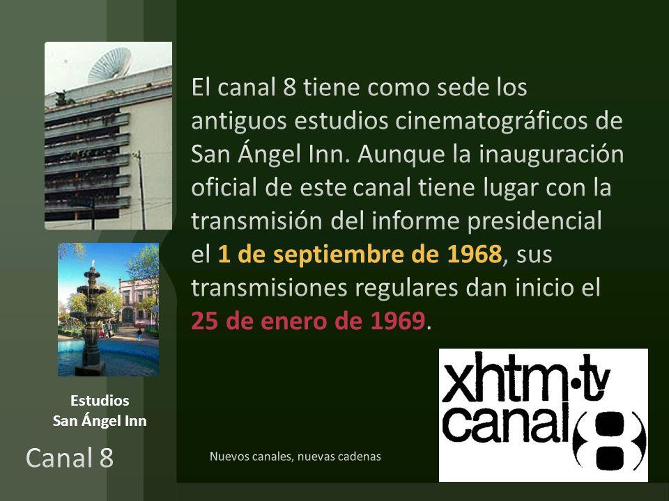Nuevos canales, nuevas cadenas Estudios San Ángel Inn