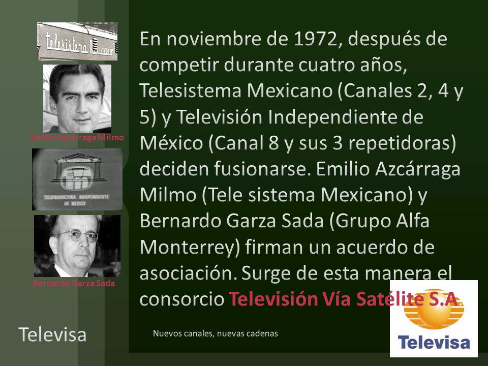 Bernardo Garza Sada Emilio Azcárraga Milmo