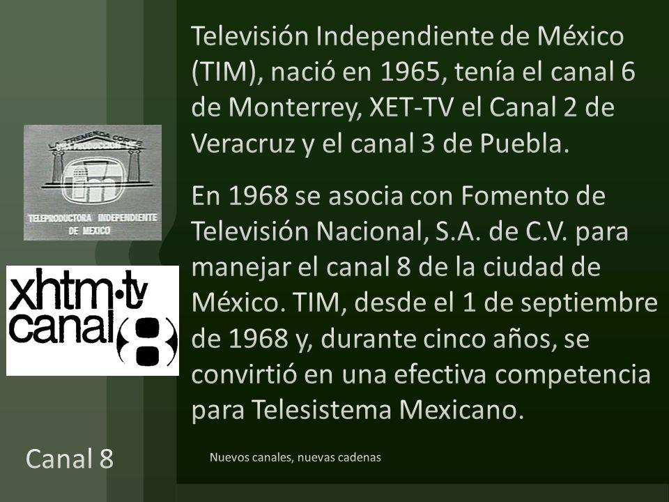 Telecadena Mexicana- Manuel Barbachano Ponce