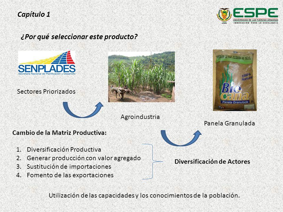 Capítulo 1 Utilización de las capacidades y los conocimientos de la población. Cambio de la Matriz Productiva: 1.Diversificación Productiva 2.Generar