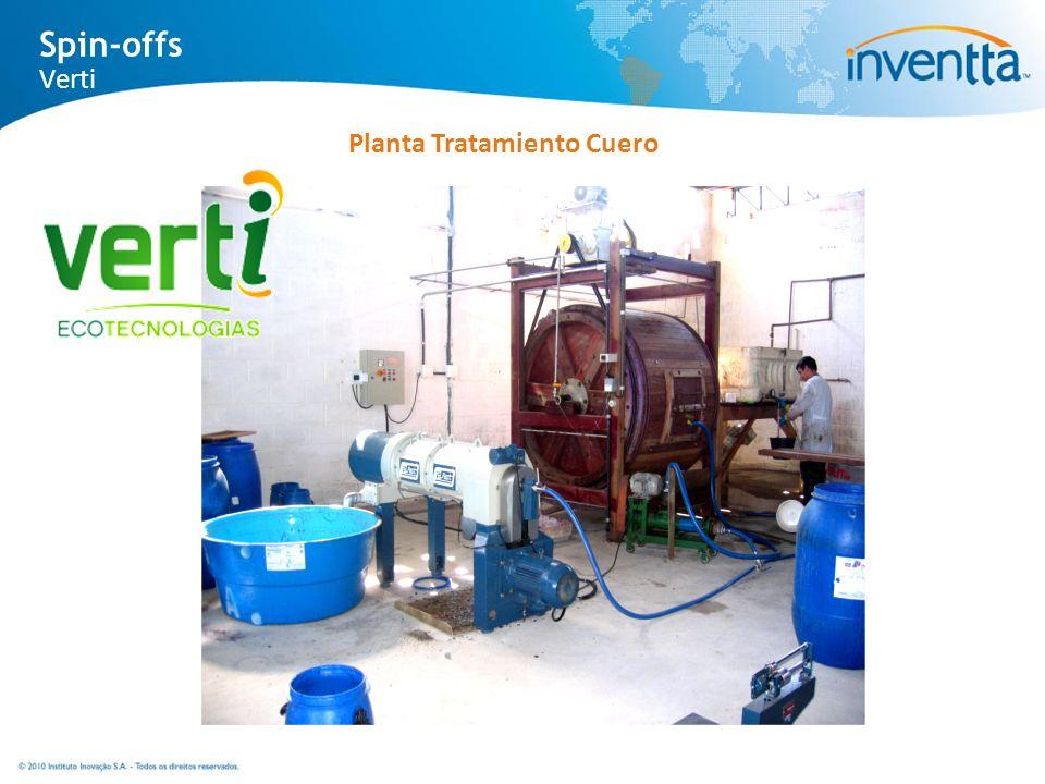 Planta Tratamiento Cuero Spin-offs Verti