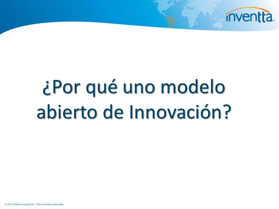 ¿Por qué uno modelo abierto de Innovación?