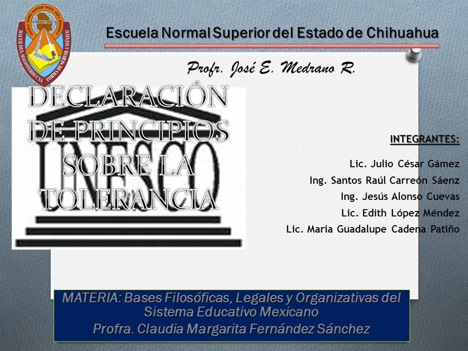 Escuela Normal Superior del Estado de Chihuahua Profr.