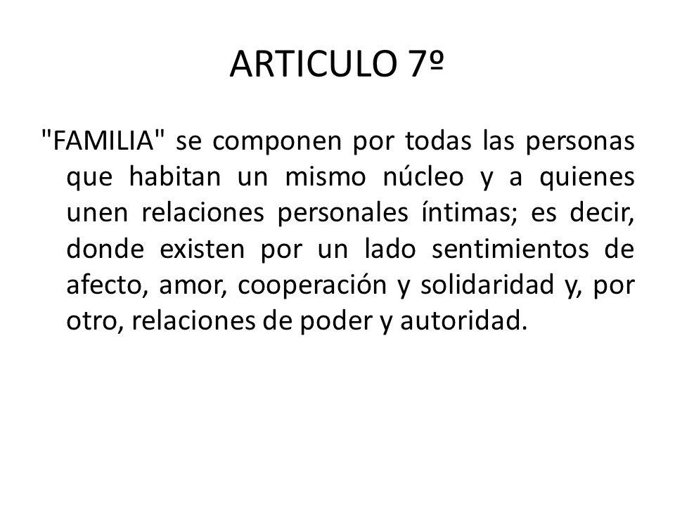 ARTICULO 7º