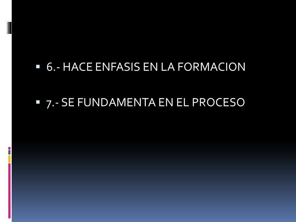 CARACTERISTICAS DE LA METODOLOGIA PARTICIPATIVA 1.- SER LUDICO 2.- PROMUEVE DIALOGO Y DISCUSION 3.- SER CREATIVO Y FLEXIBLE 4.- FOMENTO DE LA CONCIENC