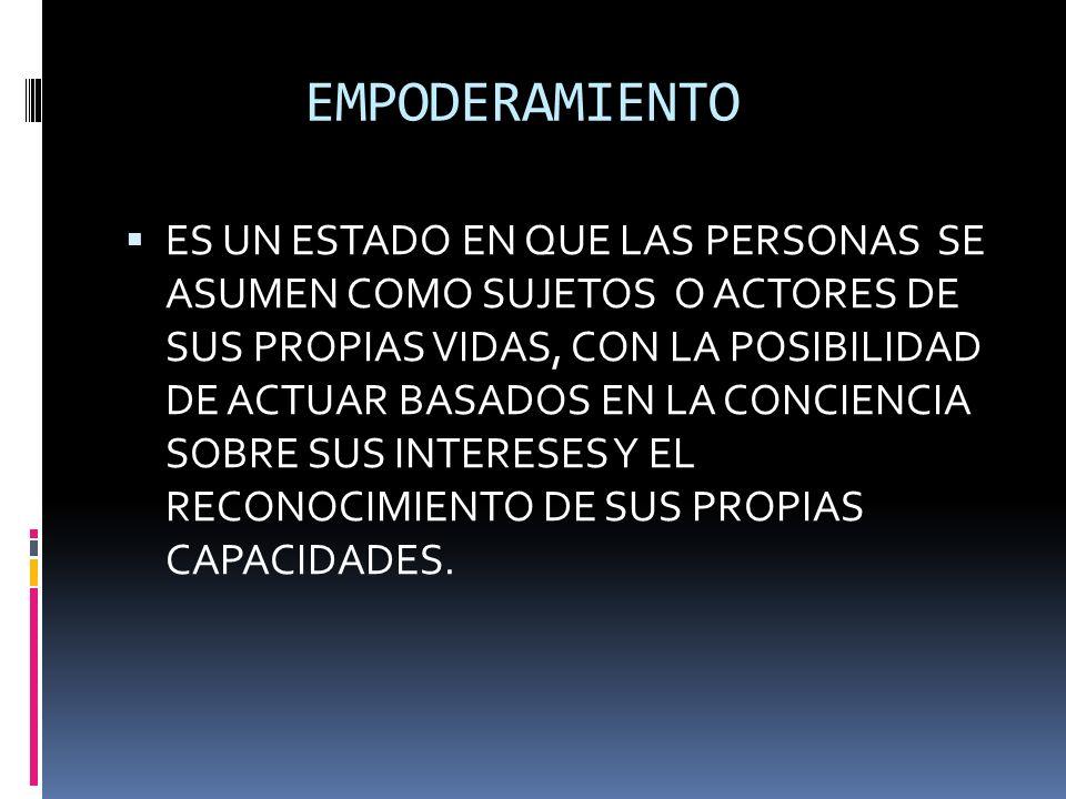 6.- HACE ENFASIS EN LA FORMACION 7.- SE FUNDAMENTA EN EL PROCESO