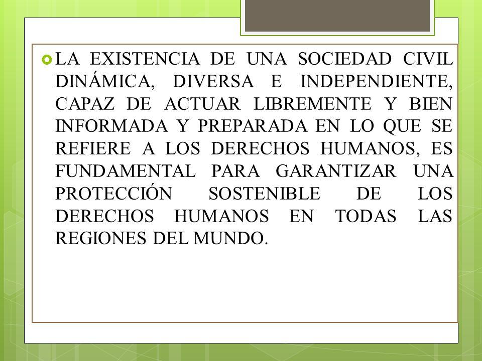 BIBLIOGRAFÍA Naciones Unidas Derechos Humanos: Extraído desde http://www.ohchr.org/SP/ABOUTUS/Pages/CivilSociet y.aspx http://www.ohchr.org/SP/ABOUTUS/Pages/CivilSociet y.aspx Jiménez P.