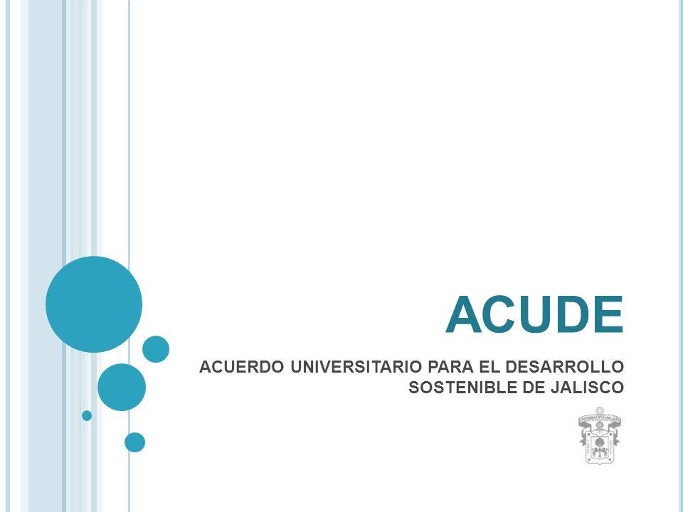 A NTECEDENTES La transformación de la Universidad de Guadalajara en una Red Universitaria descentralizada demandó a nuestra institución adquirir un nuevo perfil social.