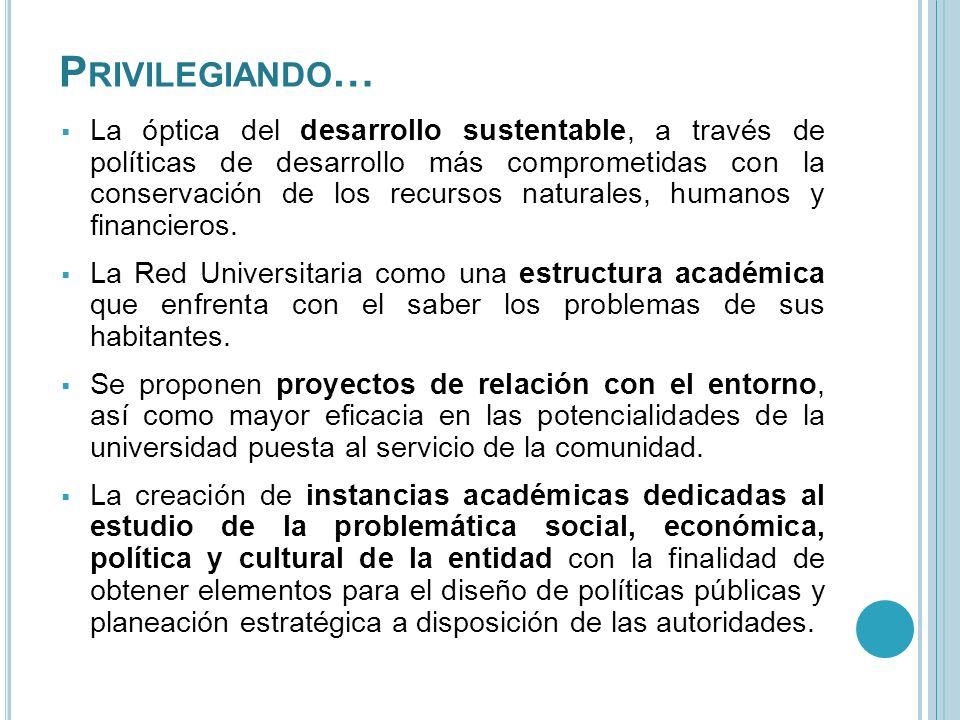 C OMPROMISOS A través de 15 compromisos plasmados en el documento, la Universidad se compromete a: I.