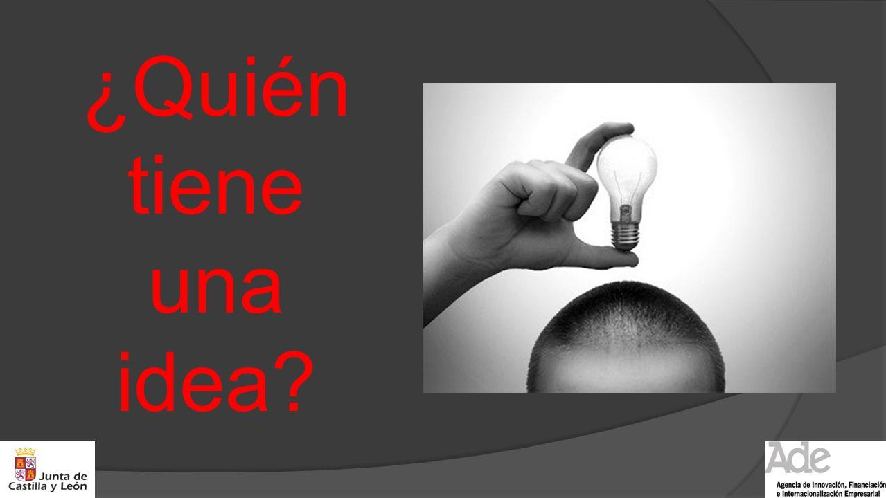 ¿Quién tiene una idea?