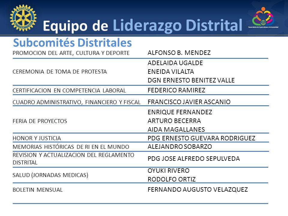 Equipo de Liderazgo Distrital PROMOCION DEL ARTE, CULTURA Y DEPORTE ALFONSO B. MENDEZ CEREMONIA DE TOMA DE PROTESTA ADELAIDA UGALDE ENEIDA VILALTA DGN