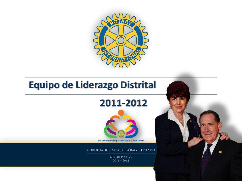 Equipo de Liderazgo Distrital Distrito 4170 2011-2012 DescripciónCantidadNo.