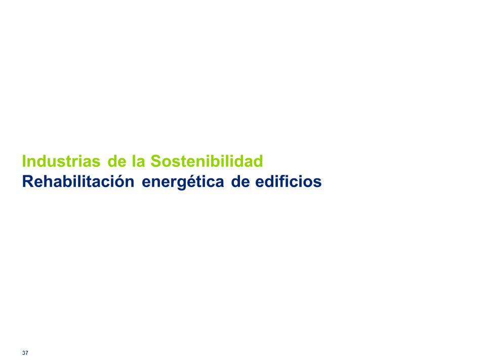 Industrias de la Sostenibilidad Rehabilitación energética de edificios 37