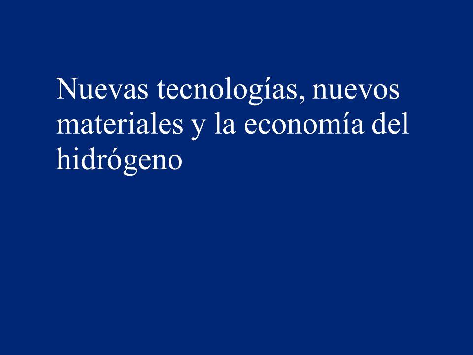 Nuevas tecnologías, nuevos materiales y la economía del hidrógeno 51