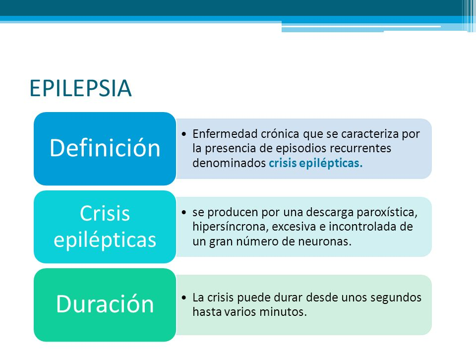 EPILEPSIA Enfermedad crónica que se caracteriza por la presencia de episodios recurrentes denominados crisis epilépticas. Definición se producen por u