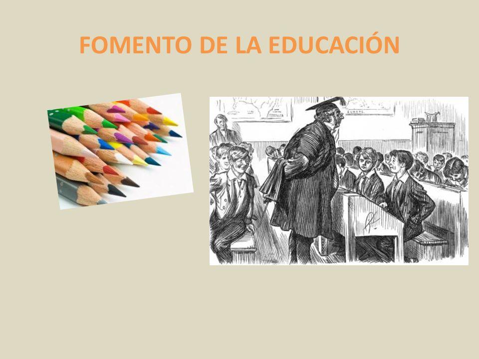 FOMENTO DE LA EDUCACIÓN
