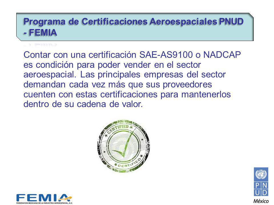 Información sobre el curso: Cupo: 16 Un participante por empresa Programa PNUD-FEMIA apoya con el 70% Costo aproximado $ 5,000.00 Lugar: México DF Fecha: Segunda o tercera semana de octubre 2012