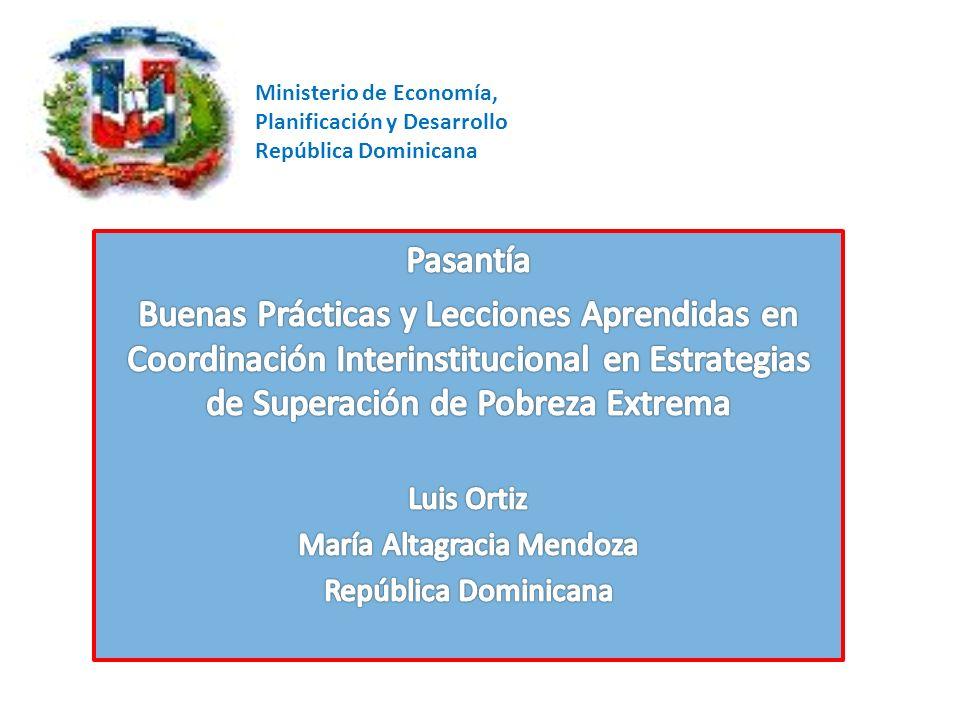 Ministerio de Economía, Planificación y Desarrollo República Dominicana