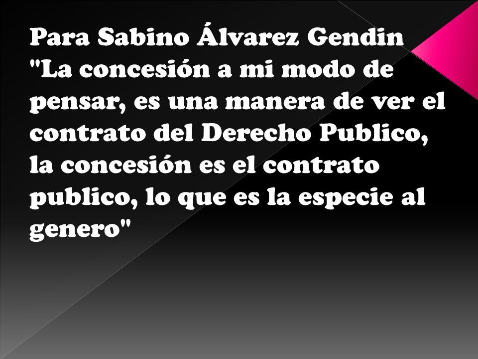 Para Sabino Álvarez Gendin