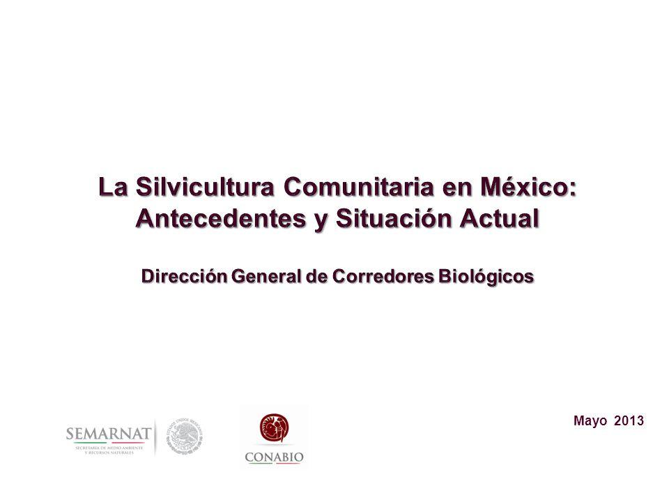 Silvicultura Comunitaria en México Primer acontecimiento: La Reforma Agraria que permite la entrega y reconocimiento de la tierra y los bosques a las comunidades.
