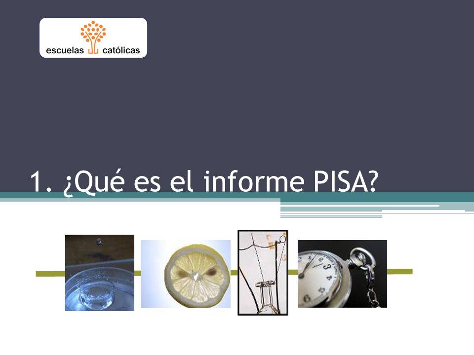 1. ¿Qué es el informe PISA?