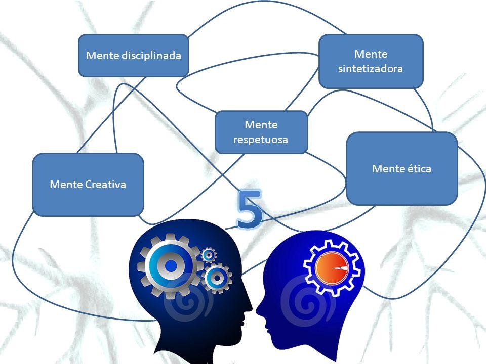Mente sintetizadora Mente ética Mente respetuosa Mente Creativa Mente disciplinada