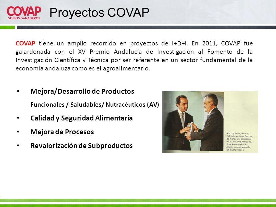 Mejora/Desarrollo de Productos Funcionales / Saludables/ Nutracéuticos (AV) Calidad y Seguridad Alimentaria Mejora de Procesos Revalorización de Subpr