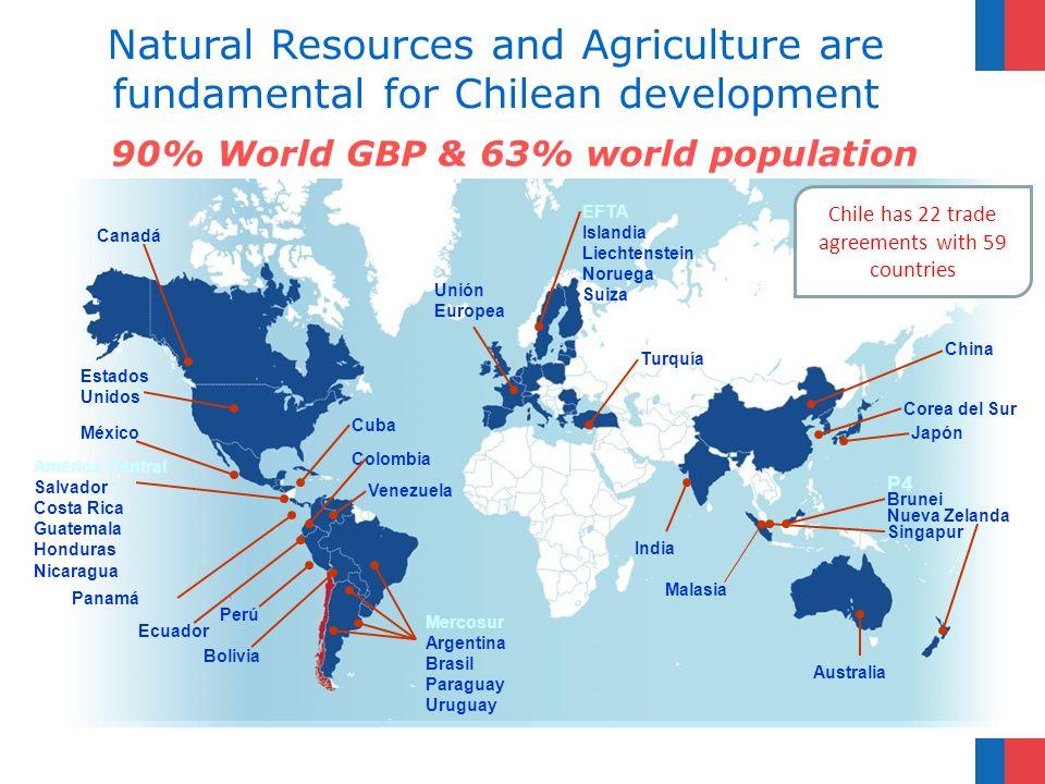 Situación actual del sector forestal en Chile 25Ministerio de Agricultura – Corporación Nacional Forestal Bosque Nativo Bosque Adulto Renoval Bosque Adulto-renoval Bosque Achaparrado Plantación Forestal Bosque Mixto Subuso Protección Total 5.912.235 3.808.769 982.822 2.985.784 13.599.610 2.620.486 123.756 81.502 16.425.654 Superficie nacional por tipo de Bosques Año 2011 Tipo de BosqueSuperficie (ha)