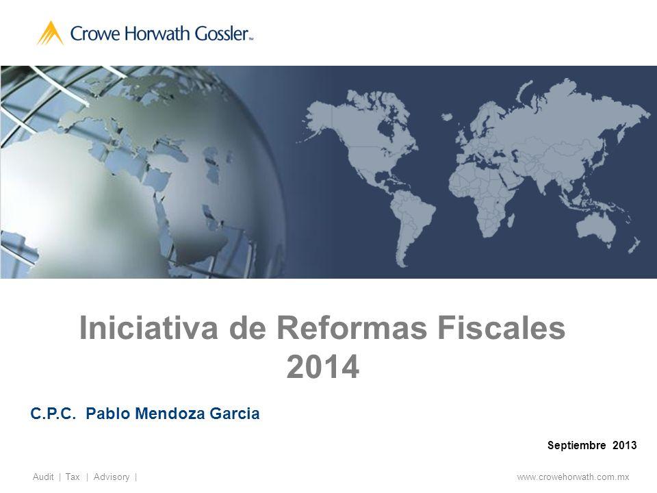 32 Audit   Tax   Advisory   © 2011, Gossler Otras disposiciones con cambios importantes