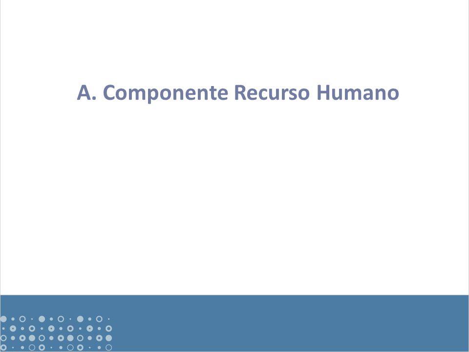 A. Componente Recurso Humano