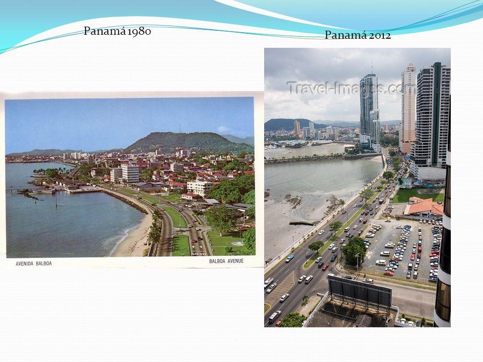 Panamá 1980 Panamá 2012
