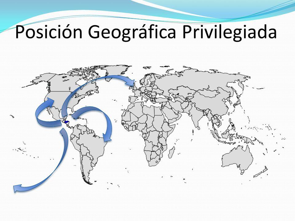 Posición Geográfica Privilegiada