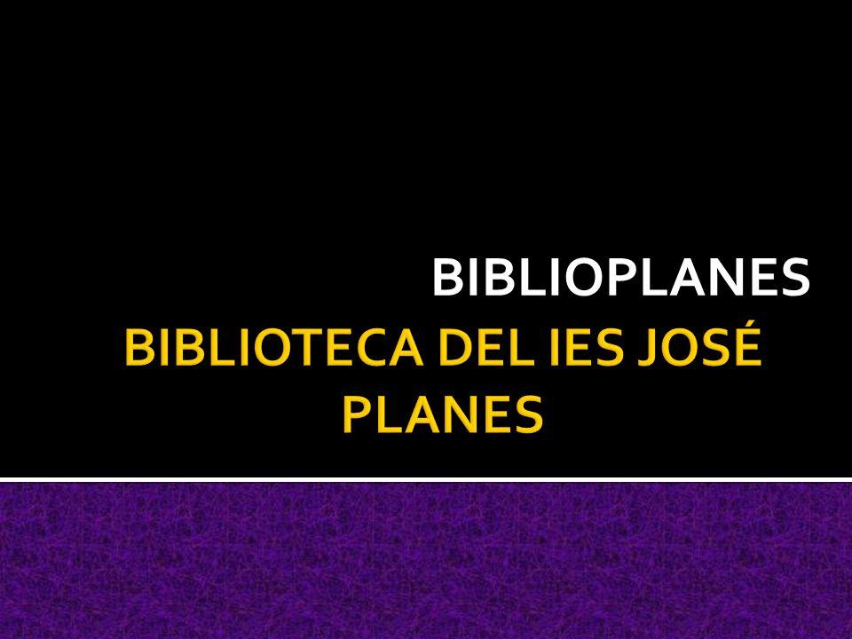 BIBLIOPLANES