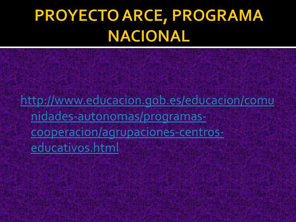 http://www.educacion.gob.es/educacion/comu nidades-autonomas/programas- cooperacion/agrupaciones-centros- educativos.html