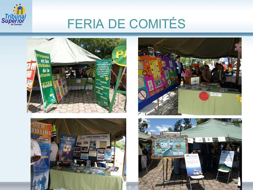 FERIA DE COMITÉS