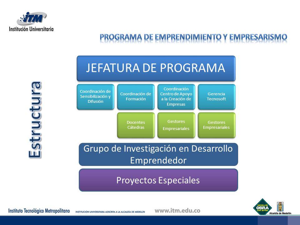 Grupo de Investigación en Desarrollo Emprendedor Proyectos Especiales