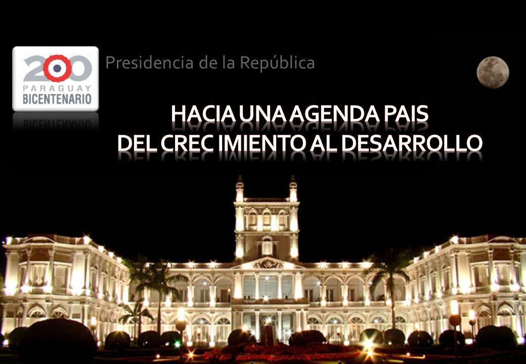 PRESIDENCIA DE LA REPÚBLICA DEL PARAGUAY Bicentenario de la Independencia Nacional: 1811- 2011 Presidencia de la República