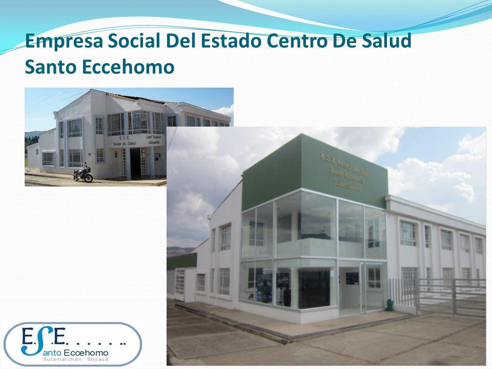 Empresa Social Del Estado Centro De Salud Santo Eccehomo