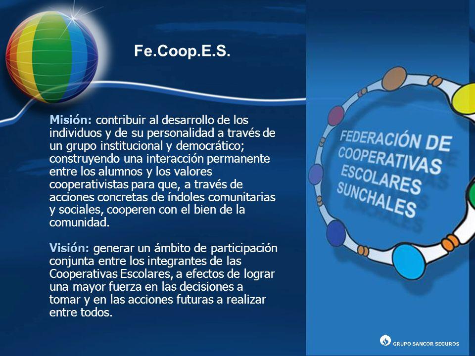 Misión: Misión: contribuir al desarrollo de los individuos y de su personalidad a través de un grupo institucional y democrático; construyendo una int
