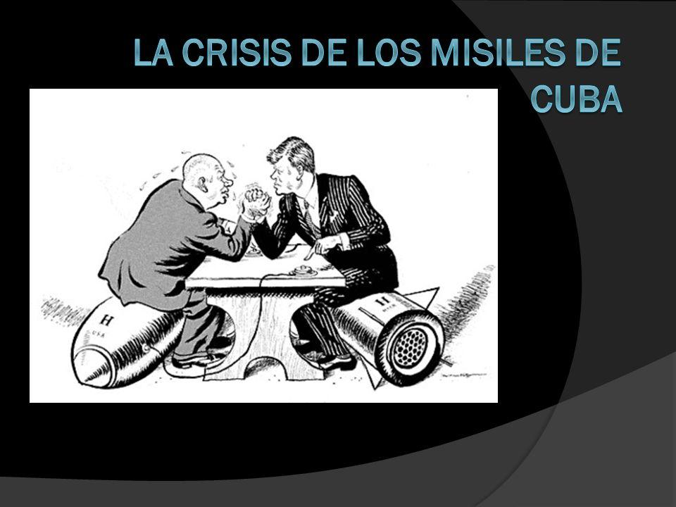 Consecuencias para la URSS Obtiene el retiro de los misiles Júpiter de las bases de la OTAN en Turquía Tiene una punta de lanza en el patio trasero de los EEUU, al quedar legitimado el nuevo régimen cubano como régimen marxista – leninista.