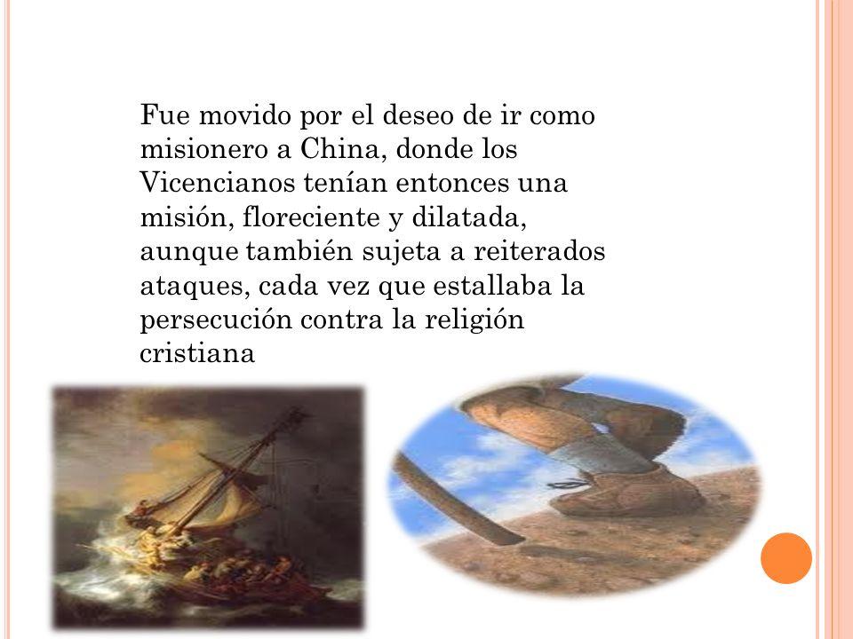 Cumplido el primer año de noviciado, el Beato recibió por destino la residencia eclesiástica de Sarzana, que dirigían los Misioneros.