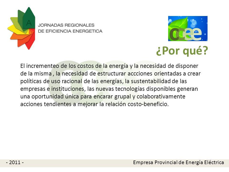 e e cc El CCEE desarrollará acciones tales como: Monitoreo energético en edificios.